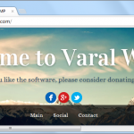 Varal WAMP Sample Site